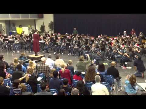 Labay Middle School 1st. Band Concert Dec 2012