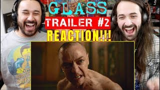 GLASS - Official TRAILER #2 - REACTION!!!