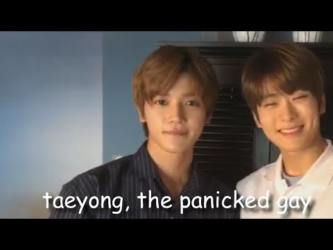 taeyong, the panicked gay