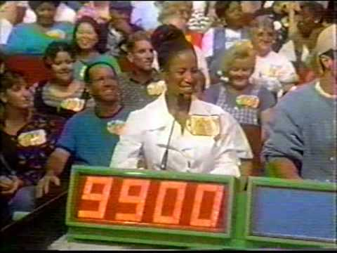 The Price Is Right 11/8/96 Outrageous Bid