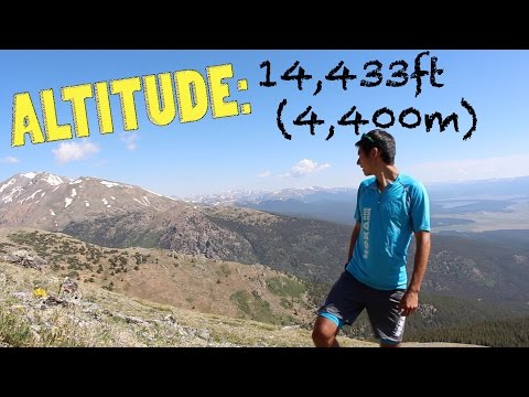 Record Mt Elbert Climb! (Ascent in 67min) by Sage Canaday