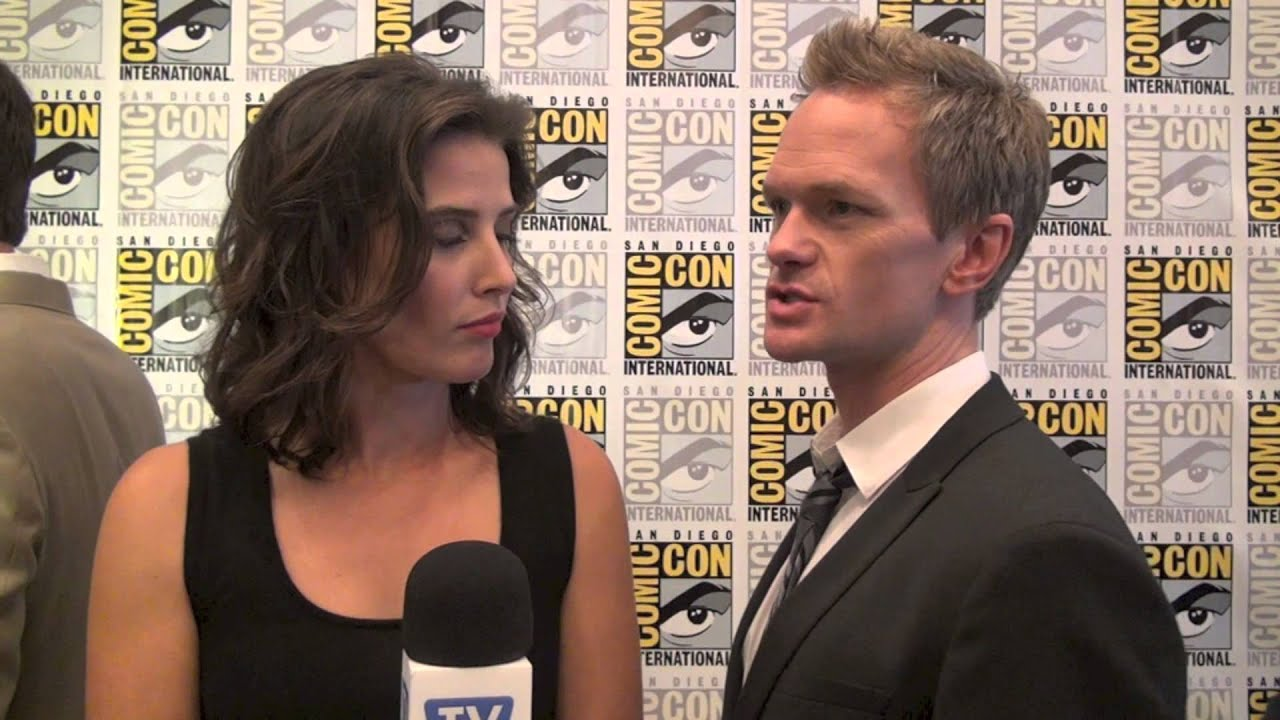 Neil patrick harris and cobie smulders 2013