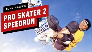 Crazy Tony Hawk's Pro Skater 2 Speedrun Finished In 12 Minutes
