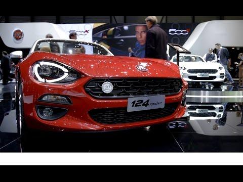 Nuova gamma Fiat a Ginevra 2016 - Inserito da Davide Cironi il 29 marzo 2016 durata 5 minuti e 8 secondi - Come ospiti Fiat al Salone di Ginevra abbiamo potuto scoprire tutte le nuove proposte del marchio torinese per il 2016, dalla nuova Tipo, alla rinnovata 500, fino al prototipo Fullback e all�affascinante 124 Spider.