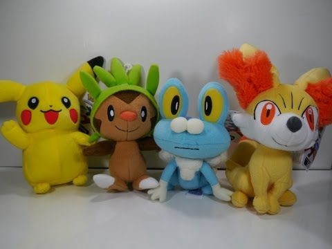 Review: Pokémon XY - Series 1 Plush