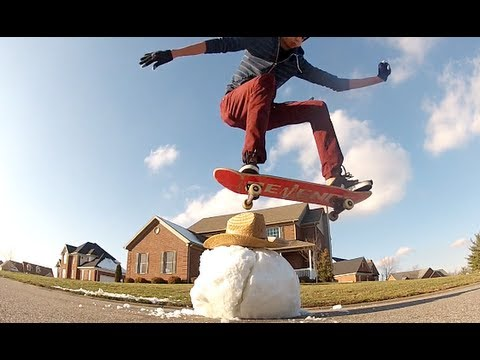 Skateboarders HATE Winter!