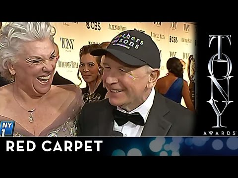 2014 Tony Awards: Red Carpet - Terrence McNally and Tyne Daly