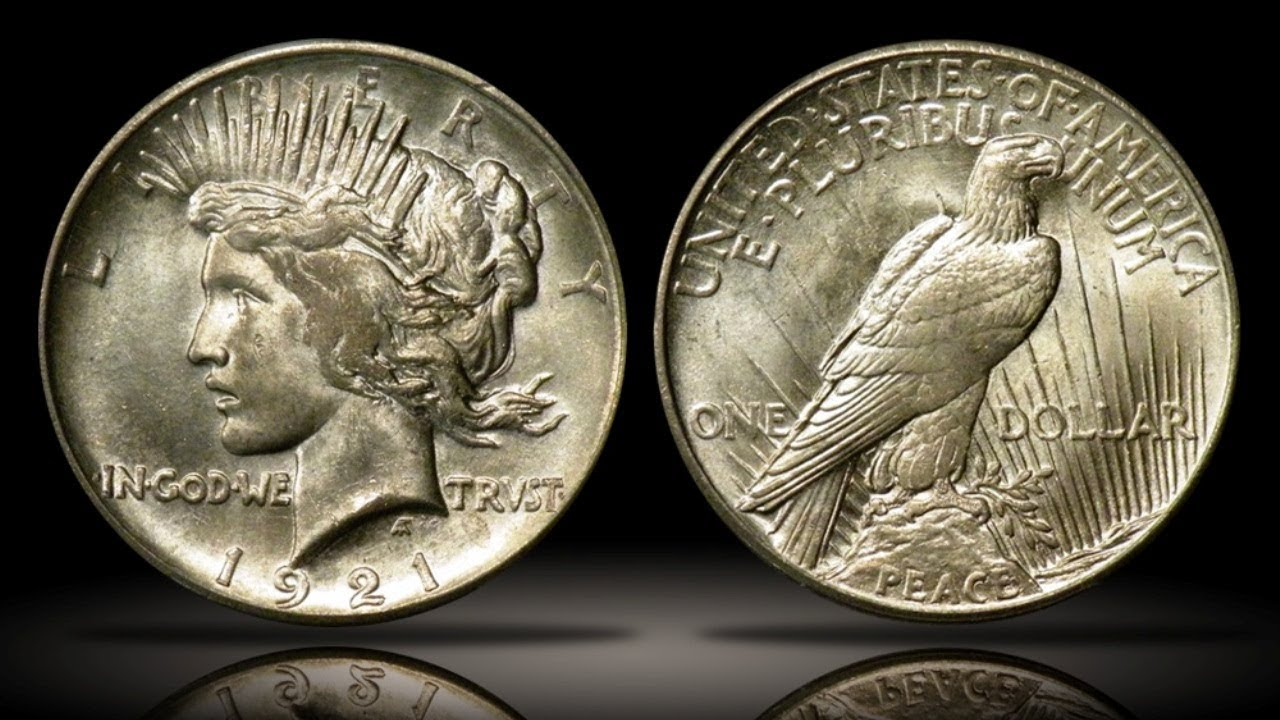 High Relief Peace Dollar 1921 High Relief Peace Dollar