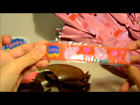 Huevo de Pascua Sorpresa Peppa Pig review,Easter egg,surprise egg,Trendy Juguetes 08