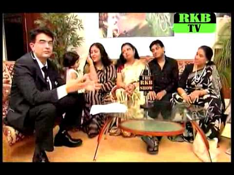 THE RKB SHOW WITH KISHORE KUMAR'S 1ST & 4TH WIFE, AMIT KUMAR AND ASHA BHONSLE