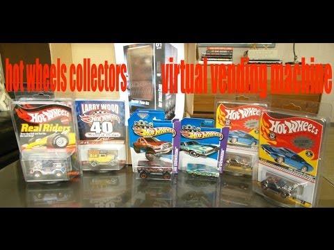 wheels vending machine