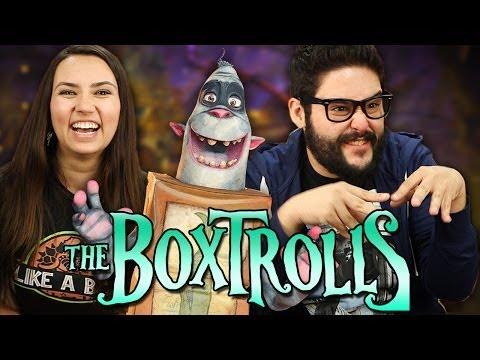 Boxtrolls Reviewed and Behind the Scenes!
