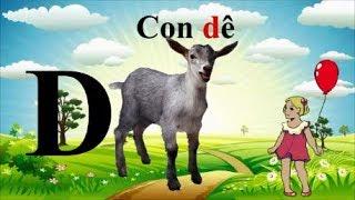 DẬY BÉ TƯ DUY SỚM❤BÉ HOC CÁC CHỮ CÁI❤ BÉ LÀM QUEN CÁC CON VẬT ❤Toys for Kids ❤Bong Bon Kid TV