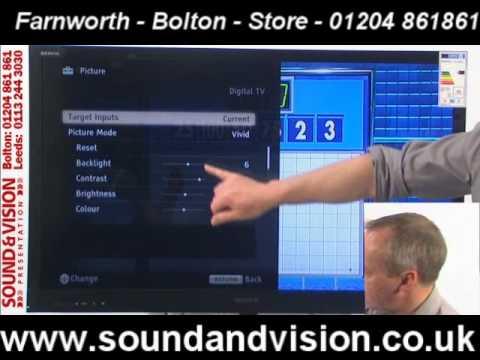 Sony KDL40EX723(KDL-40EX723)Video Review-Cheap Bravia 3D LED TV