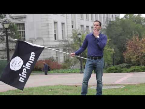 Berkeley Students SUPPORT ISIS Flag – Then ATTACK Same Guy When He Waves Israeli Flag