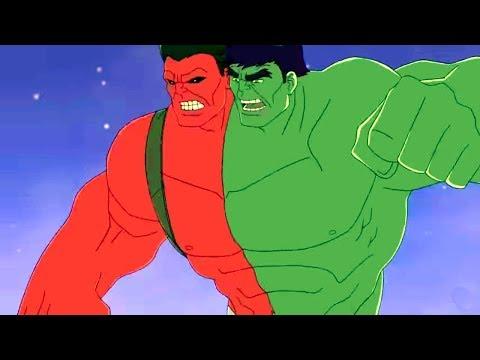 Marvel -Халк и агенты СМЭШ 5 -Сборник мультфильма о супергероях Все серии подряд (Сезон 1 серии17-20