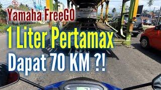 1 Liter Pertamax Yamaha FreeGo Dapat Menempuh Berapa Kilometer?
