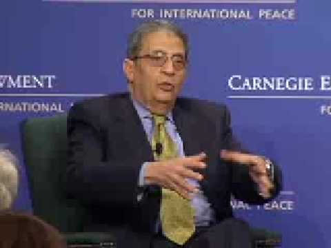 Arab League Secretary-General Amr Moussa on Middle East Priorities