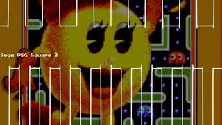 Act 4: The End - Ms. Pac-Man - Sega Master System -