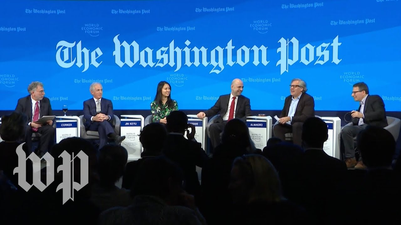 Watch: Full Davos panel on Trump's 'America First' foreign policy