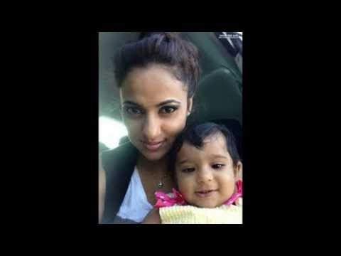 Udari Warnakulasooriya with Baby Girl Shoot