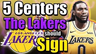 5 Centers The Lakers Should Sign To Replace DeMarcus Cousins After Suffering ACL Injury