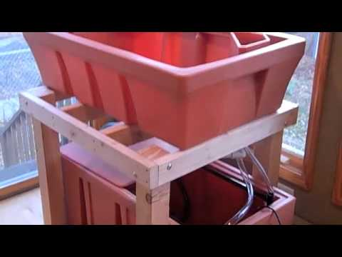 Indoor Home Aquaponics Setup Part 1