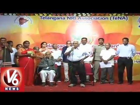 Telangana State NRI Association presents Telangana Renaissance Awards (24-01-2015)