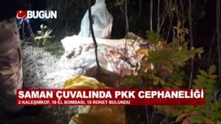 HALK İHBARI İLE PKK CEPHANELİĞİ BASILDI!