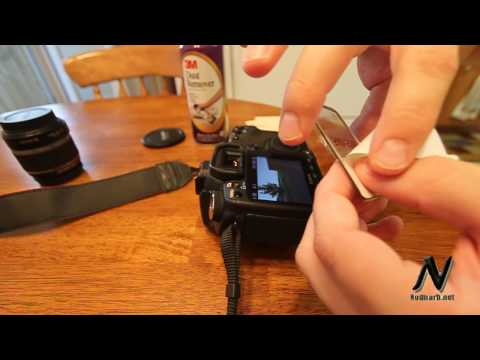 GGS LCD Screen Protector - Canon 50D