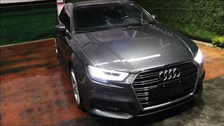 DISAUTO AUDI A3 SEDAN SLINE 20 TURBO GPS PIEL BANG AND OLUFSEN HERMOSO 28000 KIL 2017