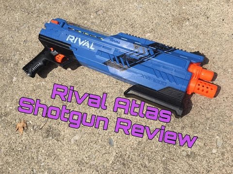 Honest Review: Nerf Atlas (Rival Shotgun!)