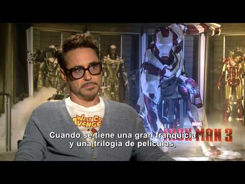 Iron Man 3 - Entrevista con Robert Downey Jr. [Subtitulada]