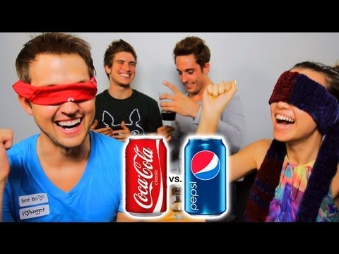 COKE VS PEPSI CHALLENGE!