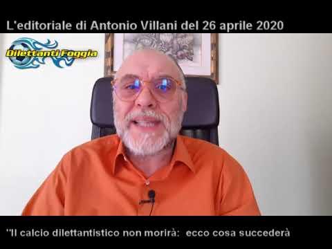 EDITORIALE DI DOMENICA 26 APRILE: ECCO COSA SUCCEDERA' PER I DILETTANTI DI CAPITANATA