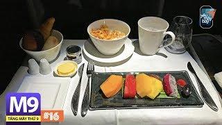 [M9] #16: Hạng thương gia Qatar Airways trên Airbus A330-300 về TP.HCM   Yêu Máy Bay