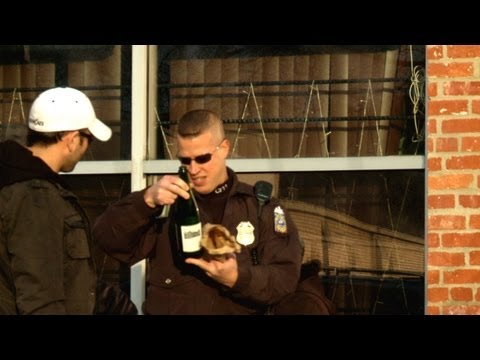 Epic Prank On Cops - Drinking In Public
