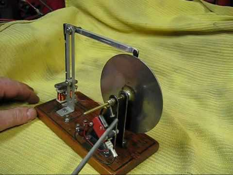 Mouse Trap Walking Beam Electric Motor