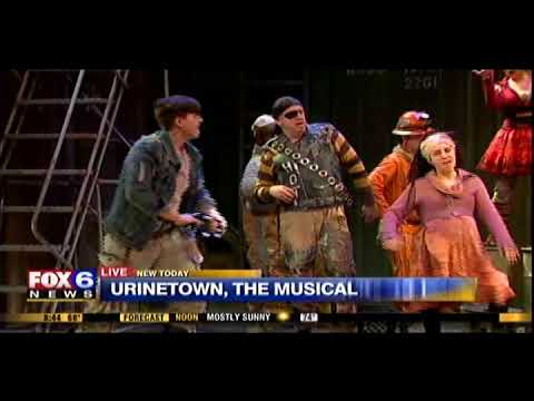 "Urinetown, The Musical ""Run, Freedom, Run"" on FOX6 WAKE UP 5/23/18"