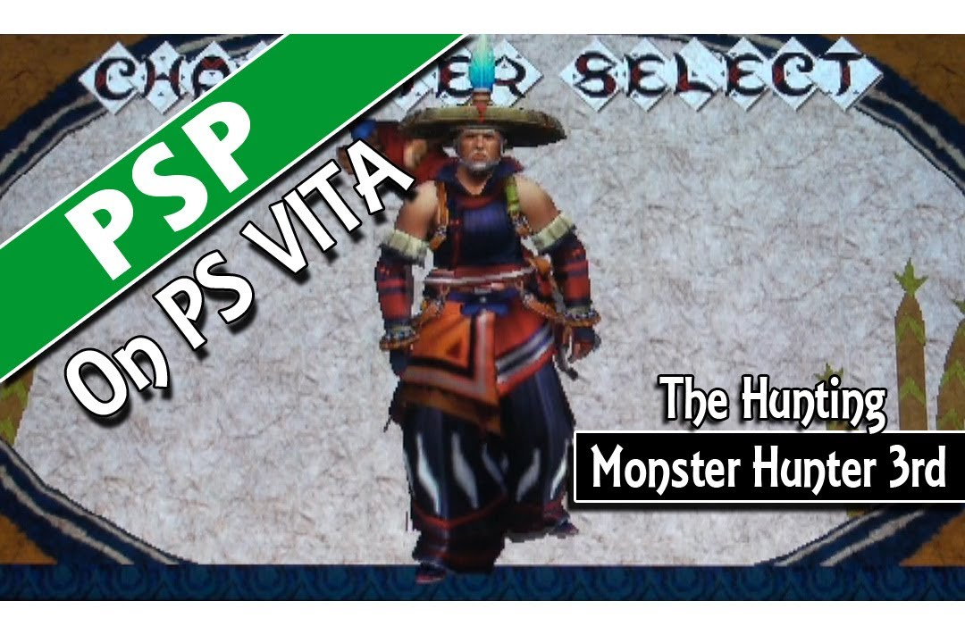 New Monster Hunter Game For ps Vita Psp on ps Vita Monster Hunter