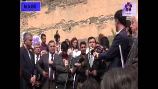 Ermeni Soykırımının 100. yıl dönümü dolayısı ile Diyarbakır'da yapılan anma etkinliği