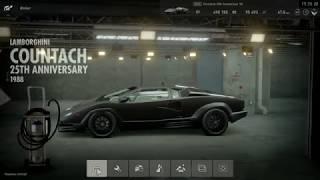 Lamborghini countach 25th '88 - Sport tires