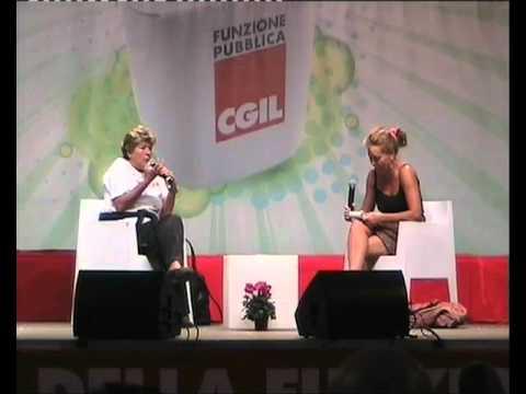 Sabina Guzzanti intervista Susanna Camusso Durante EffePiù 2011