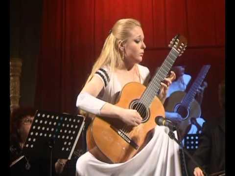 Anna Likhacheva plays Concerto Elegiaco (Leo Brouwer), 2 part