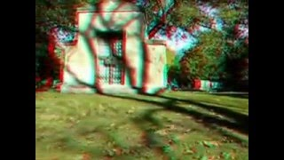 3D Anaglyph Video Graceland Graveyard Chicago 30  from www metacafe com
