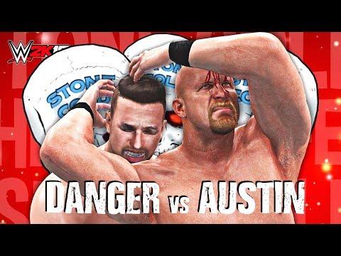 WWE 2K18 - CHRIS DANGER vs STONE COLD   WWE 2K18 Dream Match Showcase