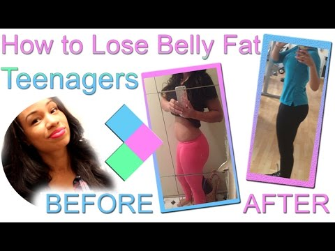 How to Lose Belly Fat for Teenagers