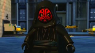 LEGO Star Wars: The Complete Saga 100% Guide #6 - Darth Maul (All Minikits)