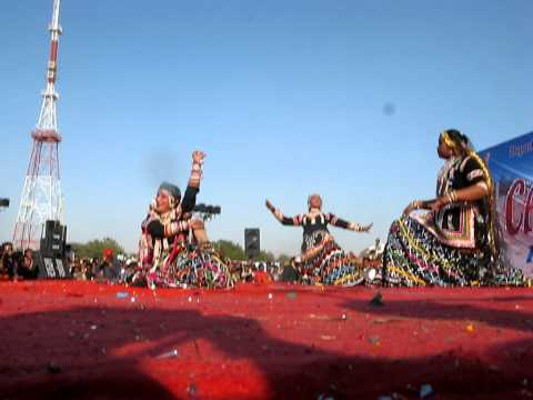 Gulabo dance in CAMEL FESTIVAL BIKANER RAJASTHAN 18-19-20  January 2011 Music Videos