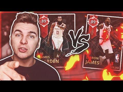 JAMES HARDEN | LEBRON JAMES 1v1...VS CALDY! NBA 2K18